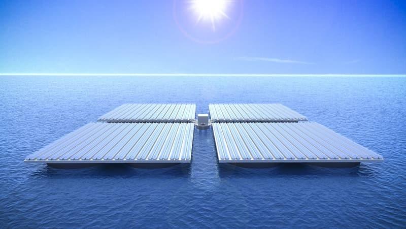 پنلهای خورشیدی موجپیما