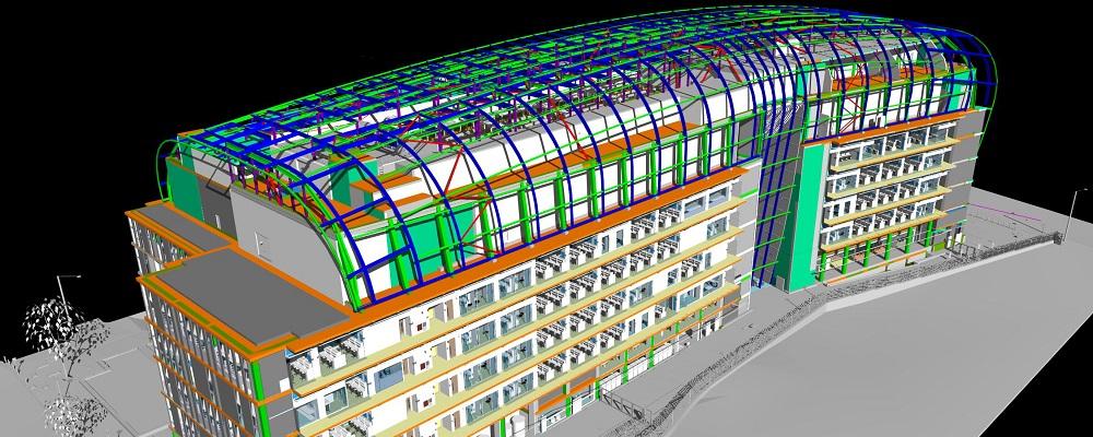 کاربرد BIM جهت بهینه سازی انرژی در یک ساختمان عمومی مناطق استوایی