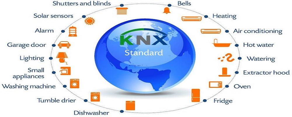 خانه های هوشمند - استاندارد KNX در خانههای هوشمند