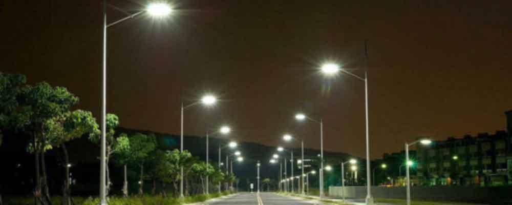 چراغ های خیابانی مدرن و هوشمند
