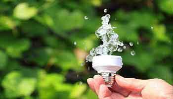 بررسی رابطه بین صرفه جویی در مصرف آب و بقای انرژی
